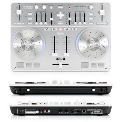 Vestax Spin - новый DJ USB MIDI Controller от Vestax.