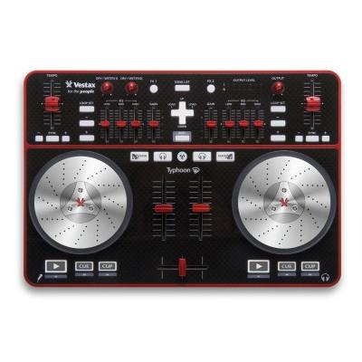 Vestax Typhoon - новый DJ USB MIDI Controller от Vestax под ОС Windows.
