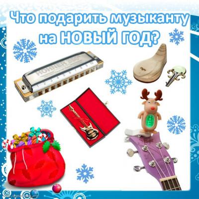 Что подарить музыканту на Новый Год?